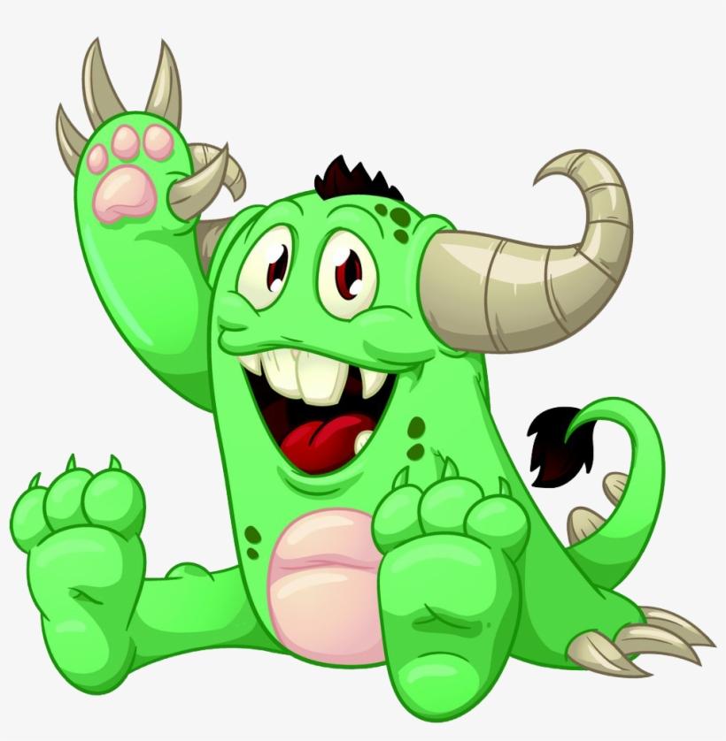 Cartoon Monster Animation Clip Art.