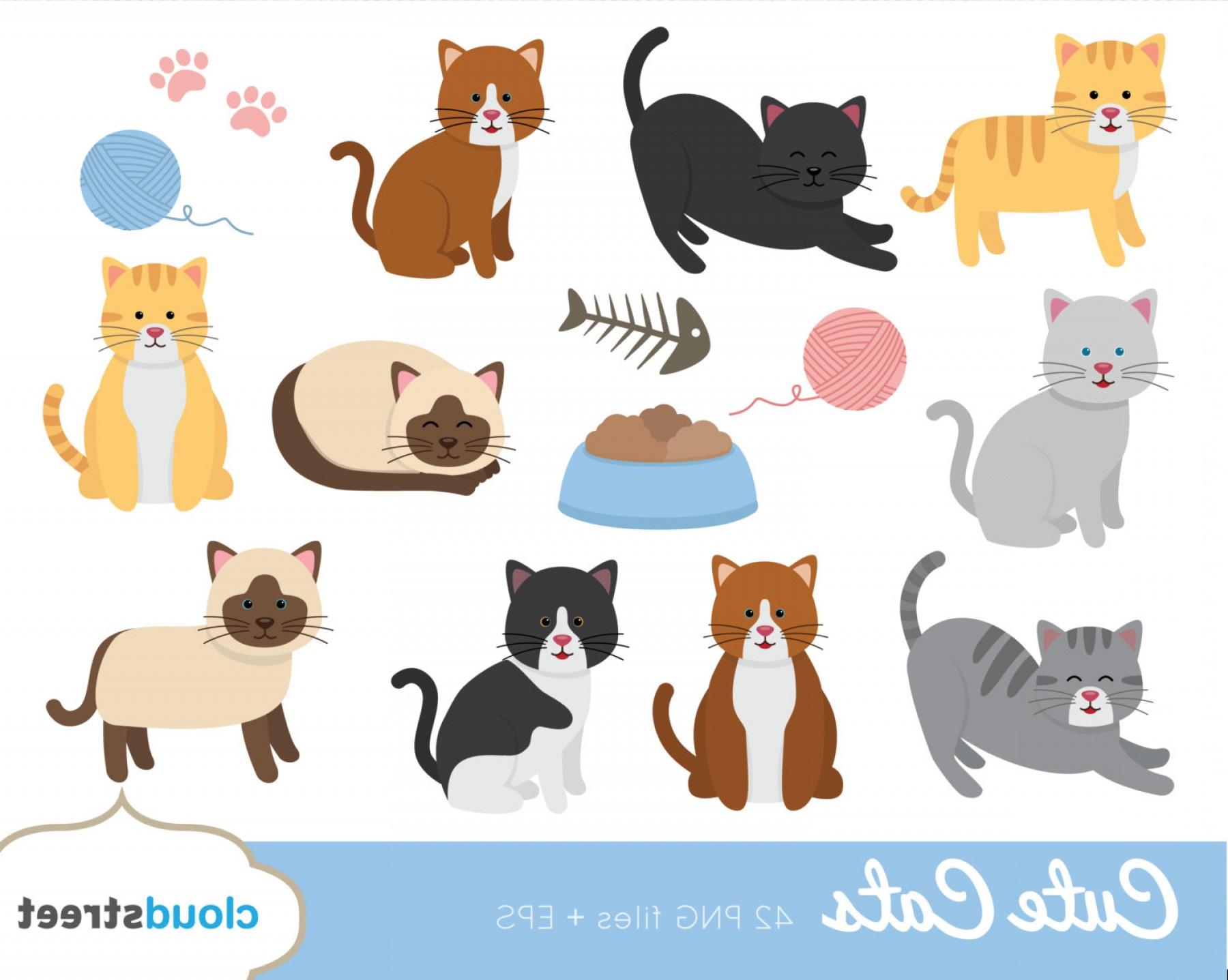 Buy Get Free Cute Cat Clipart Cat.