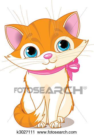 Very Cute cat Clipart.