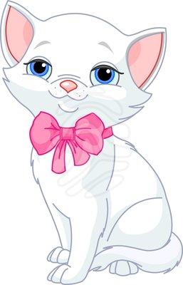 Cute cat clipart.