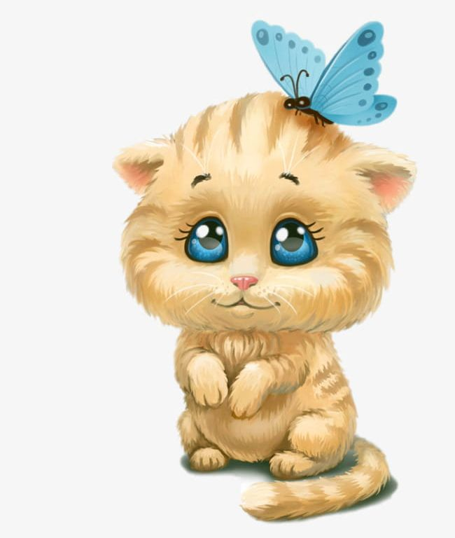 Butterfly Cute Cat Head PNG, Clipart, Animal, Butterfly, Butterfly.