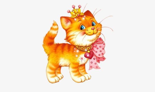 Crowned Cute Cat PNG, Clipart, Cat, Cat Clipart, Cat Clipart.
