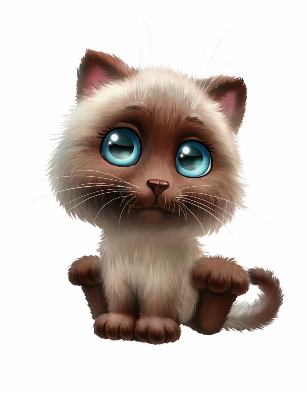 Anime Clipart Cute Cat.
