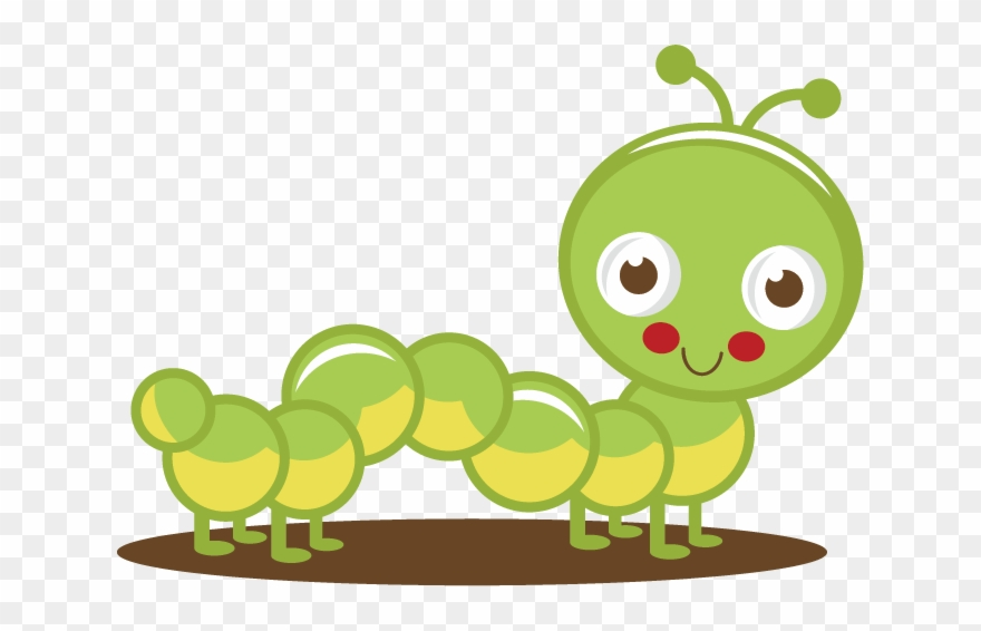 Cute Caterpillar Clipart Png Transparent Png (#1117684).
