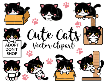 Kittens and Cats Clipart.