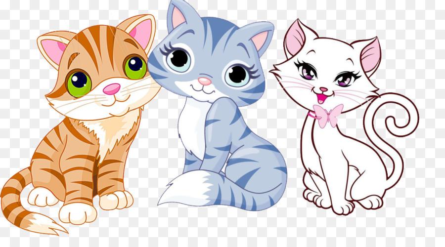 844 Cute Cat free clipart.