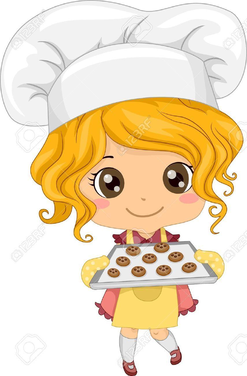 Cute chef woman clipart 4 » Clipart Portal.