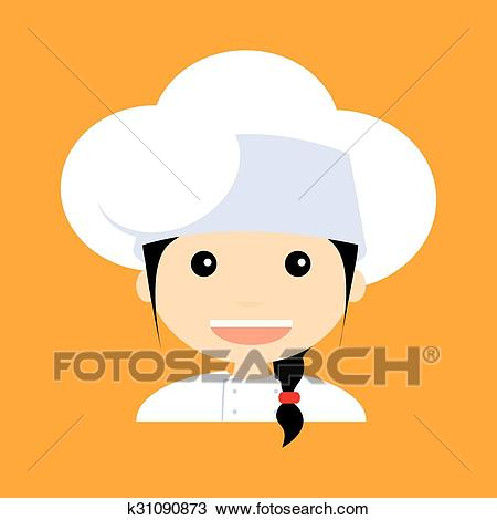 Cute Chef Clipart.