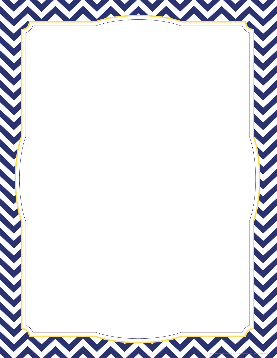 Clipart Of Cute Border Outlines Brown Chevron.