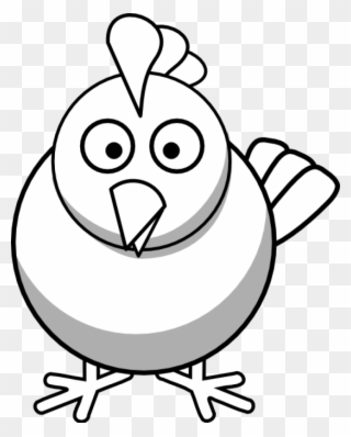 Free PNG Chicken Clipart Black And White Clip Art Download.