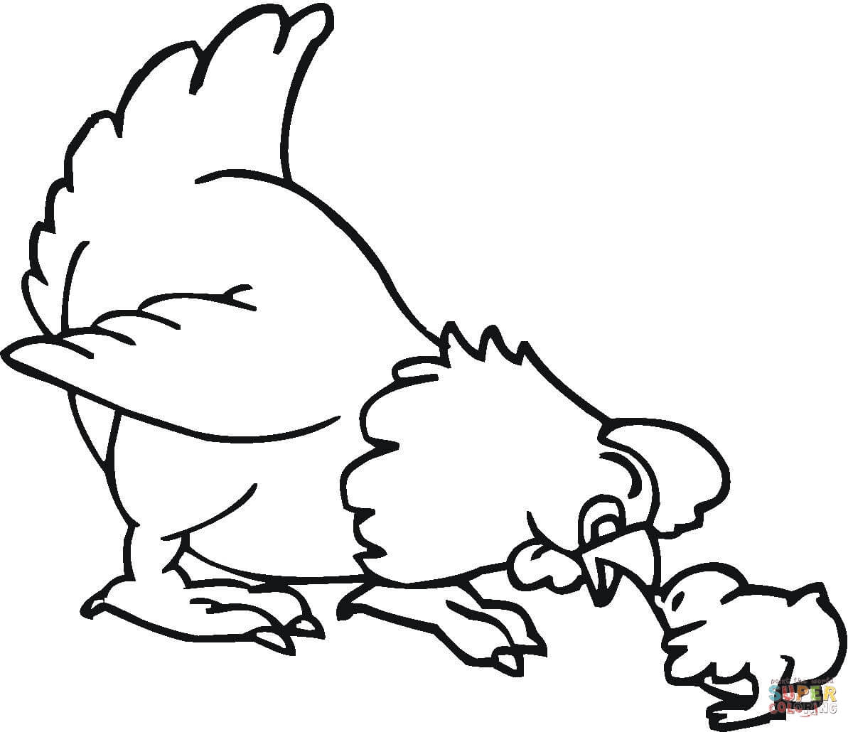 Cute chicken clipart black and white 2 » Clipart Station.
