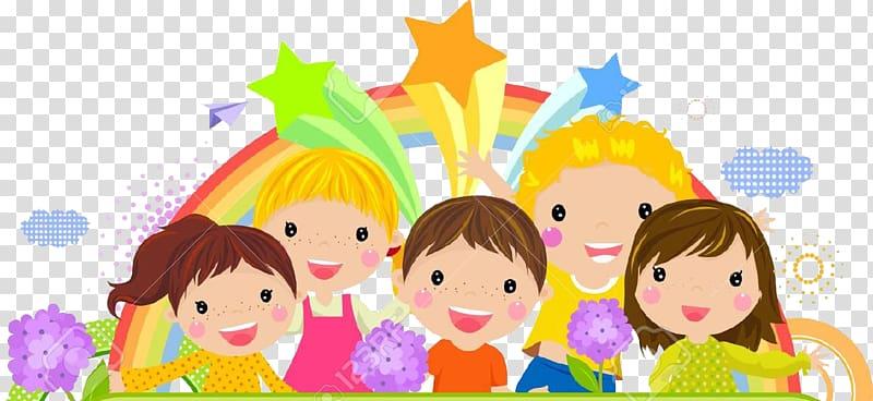Children , Cartoon Child frame, Cute Kids Background transparent.