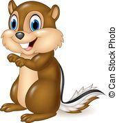 Cute chipmunk clipart » Clipart Portal.