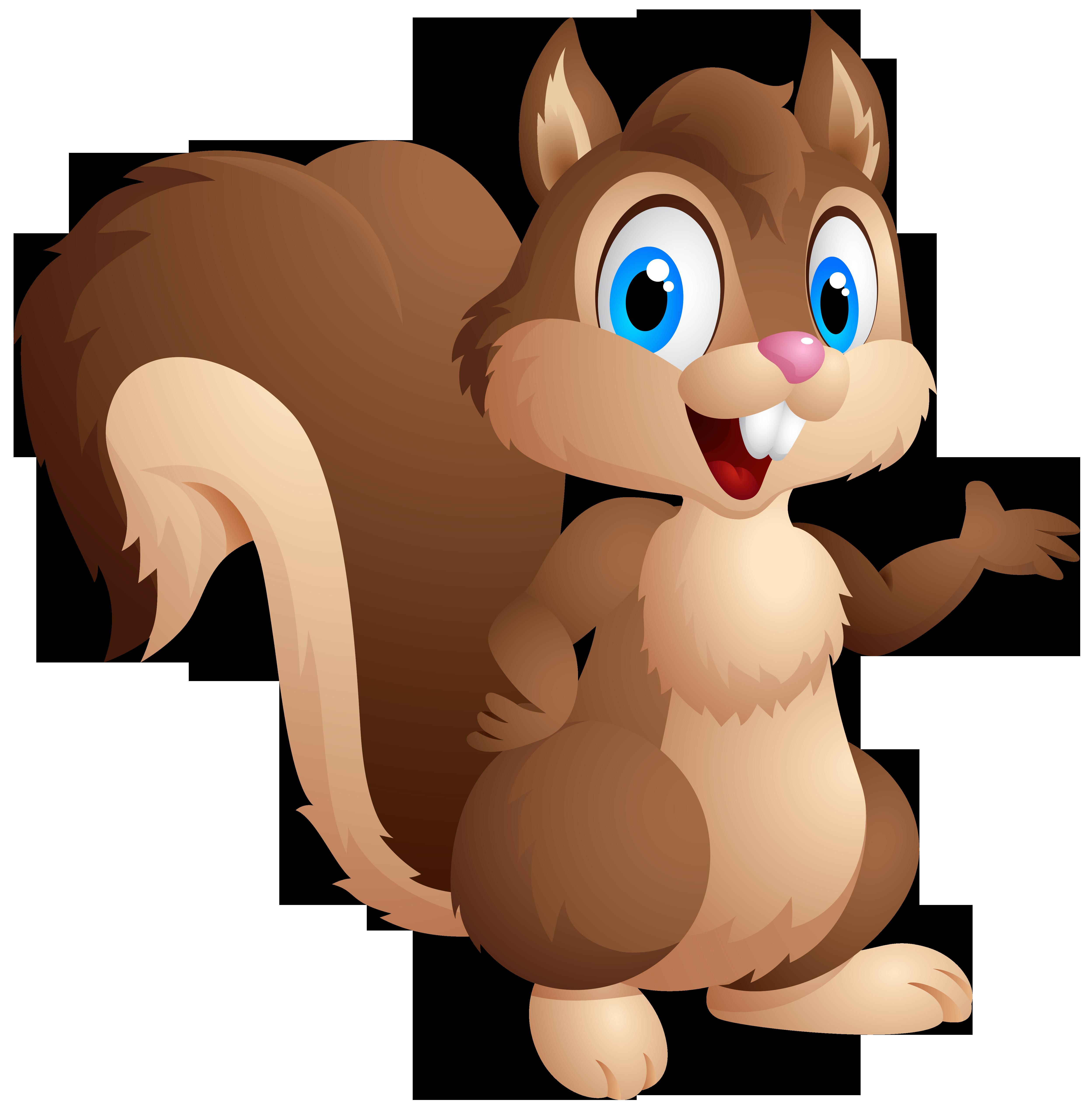 Download Gray Squirrel Cute Chipmunk Eastern Cartoon Clipart PNG.