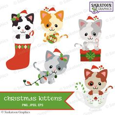 Christmas Animals Clipart (105+ images in Collection) Page 2.