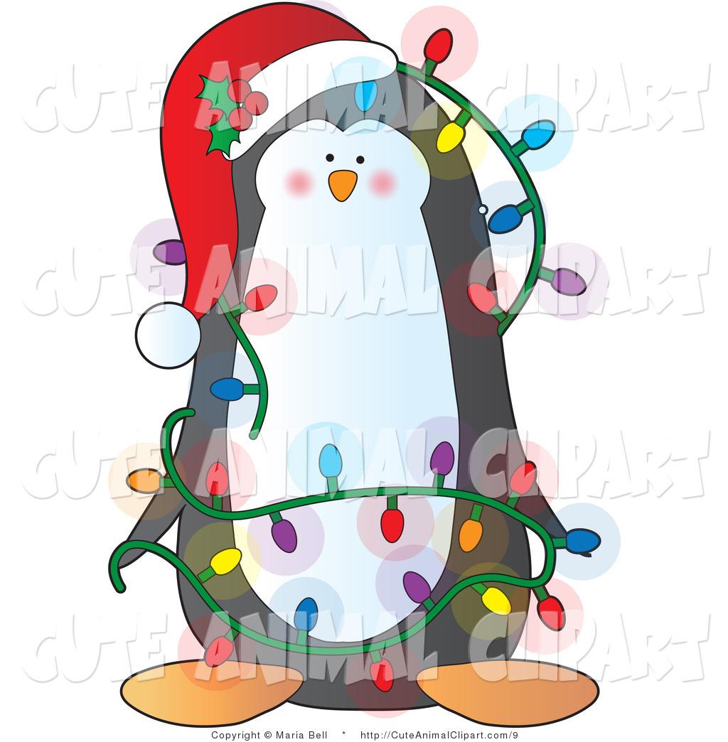 Christmas Animals Clipart.