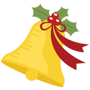 Christmas Bell SVG.