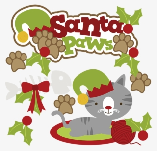 Christmas Cat PNG Images.