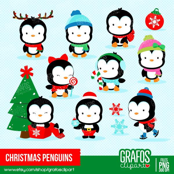 Penguin clipart.