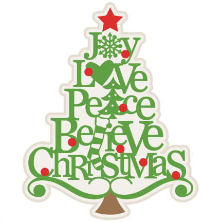 Cute christmas tree clip art.