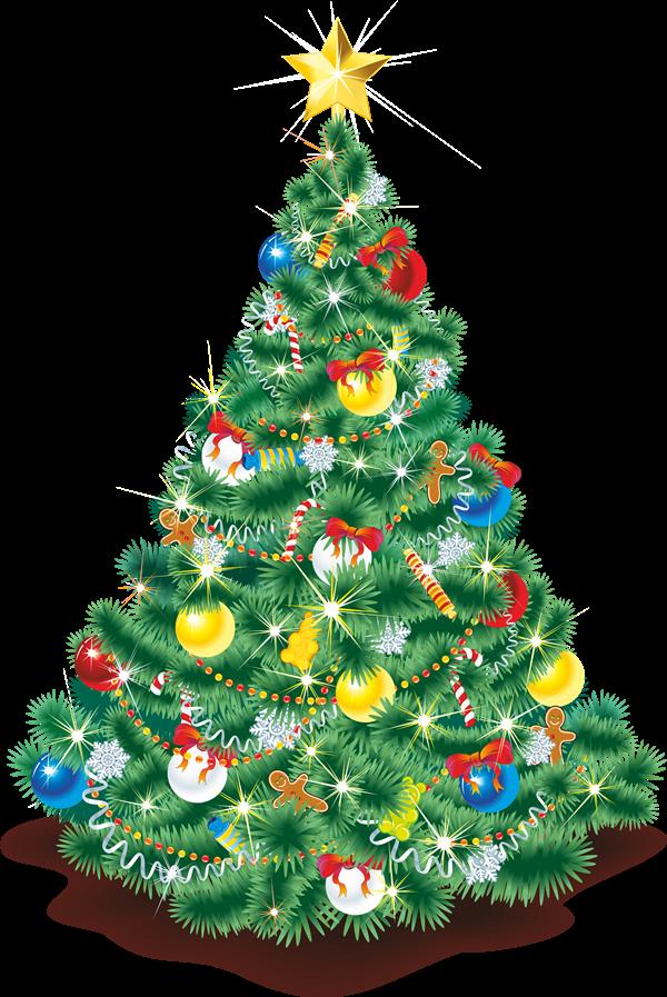 Free to Use & Public Domain Christmas Tree Clip Art.