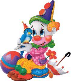 clowns.quenalbertini: Circus clown.