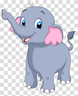 Elephant , cute elephant transparent background PNG clipart.