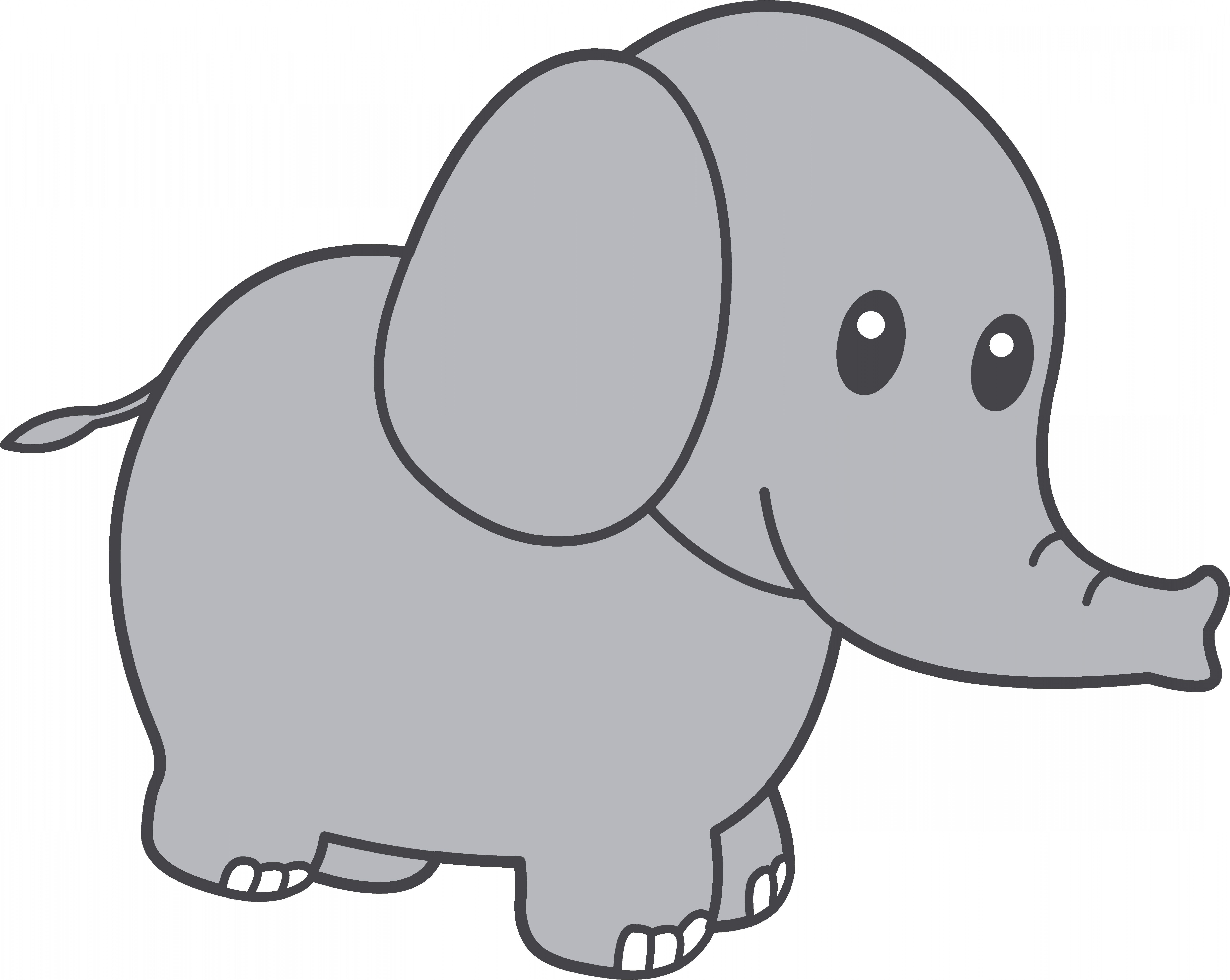Baby Elephant Clipart The Cliparts Regarding Clip Art Free Cute.