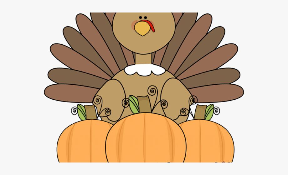 Cute Turkey Clip Art #661917.