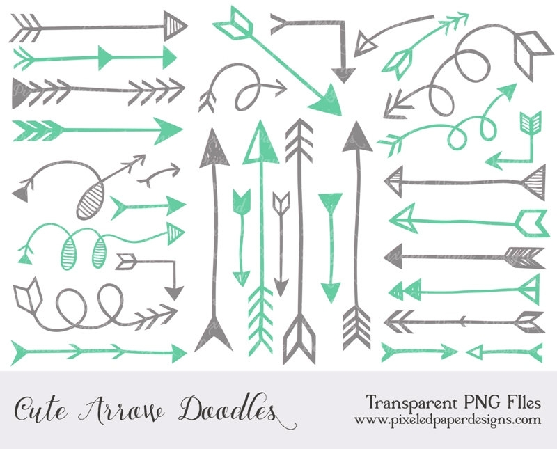 Cute arrow clip art.