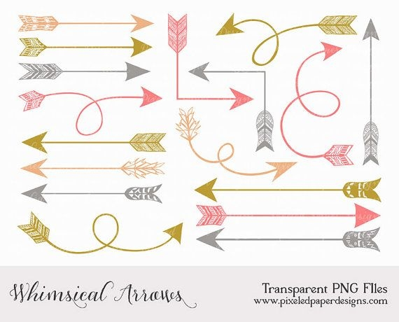 Free cute arrow clipart.