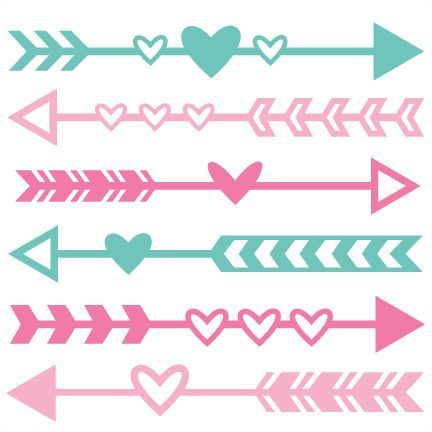 Clipart of an cute arrow.