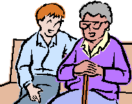 Caregiver Clipart.