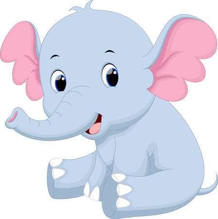 Cute Elephant Clipart Free Download Clip Art.