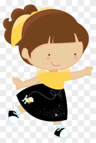 Free PNG Girls Dancing Clip Art Download.