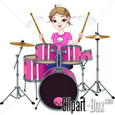 Boys Rock! This cute clipart set comes with 10 awesome rock star.