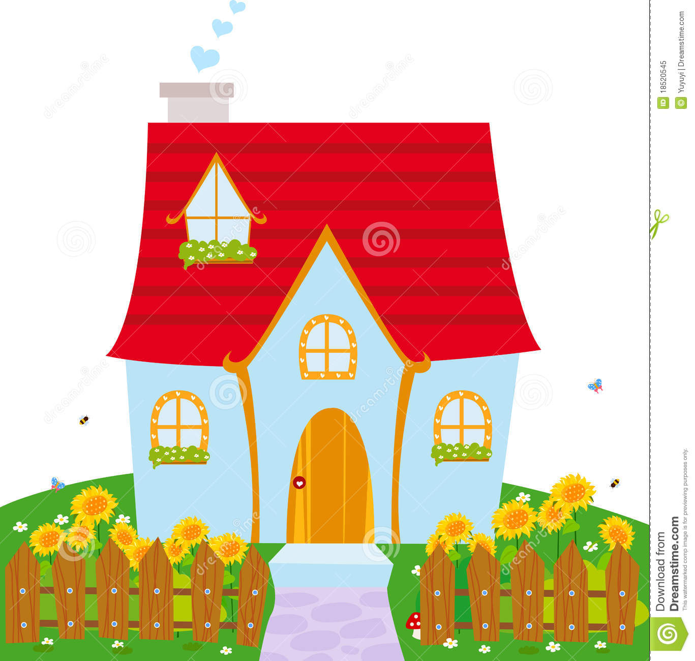 Cute House Clipart & Cute House Clip Art Images.