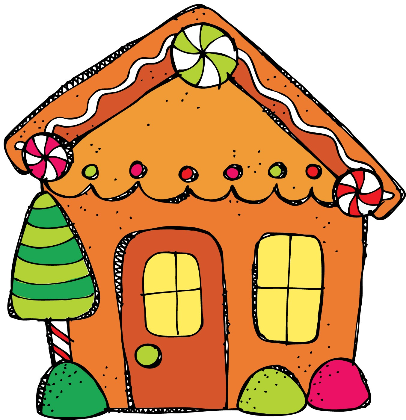 Best Cute House Clipart #27270.