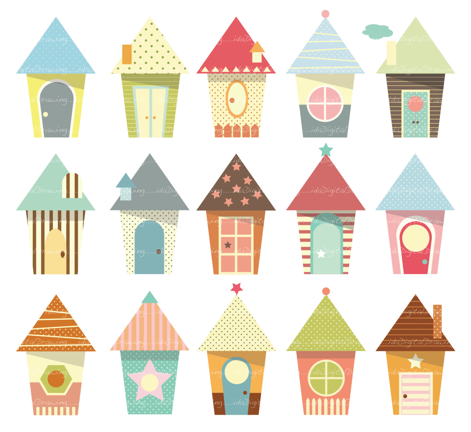 Cute House Clipart & Cute House Clip Art Images.