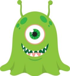 Cute Monster Clipart.