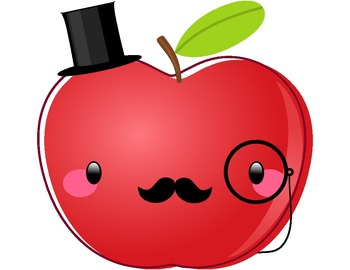 Cute Apples Clipart.