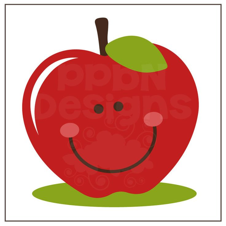 Cute Clipart Of Apples.