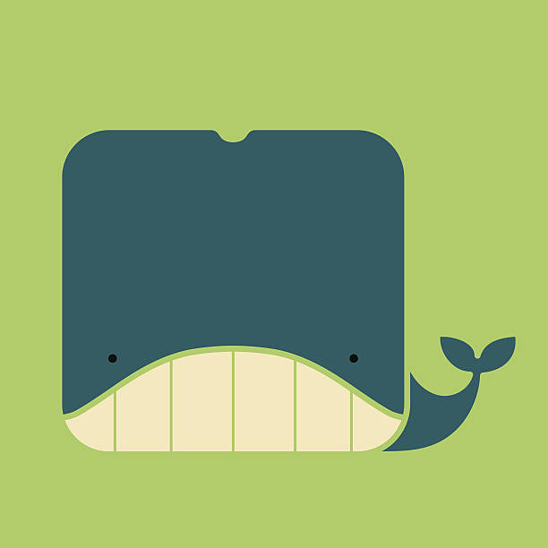 Whale Face Clip Art, Vector Images & Illustrations.