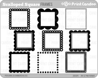 View CU Frames / Borders by printcandee on Etsy.