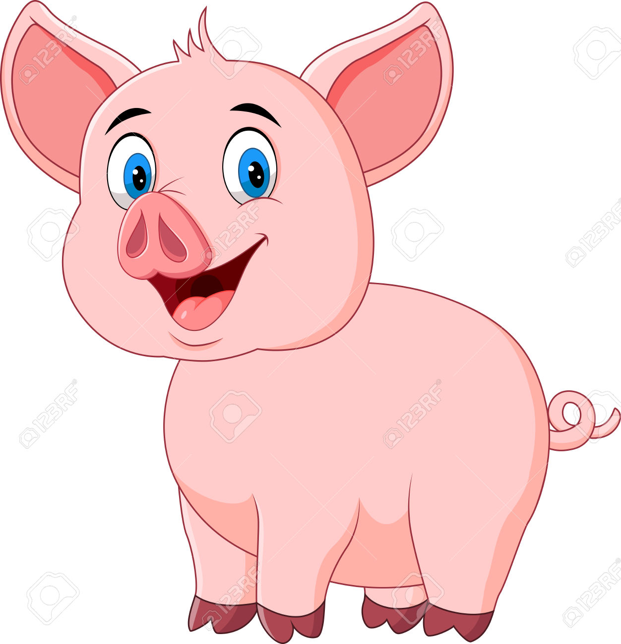 12,616 Cute Pig Cliparts, Stock Vector And Royalty Free Cute Pig.