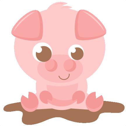 Clipart Cute Pigs.