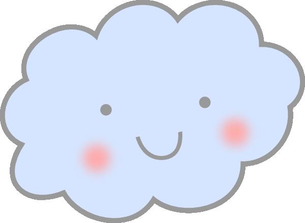 Cute Cloud Clipart.