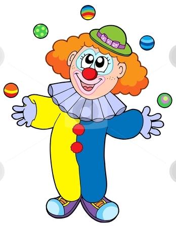 Cute Clown Clipart#2063515.