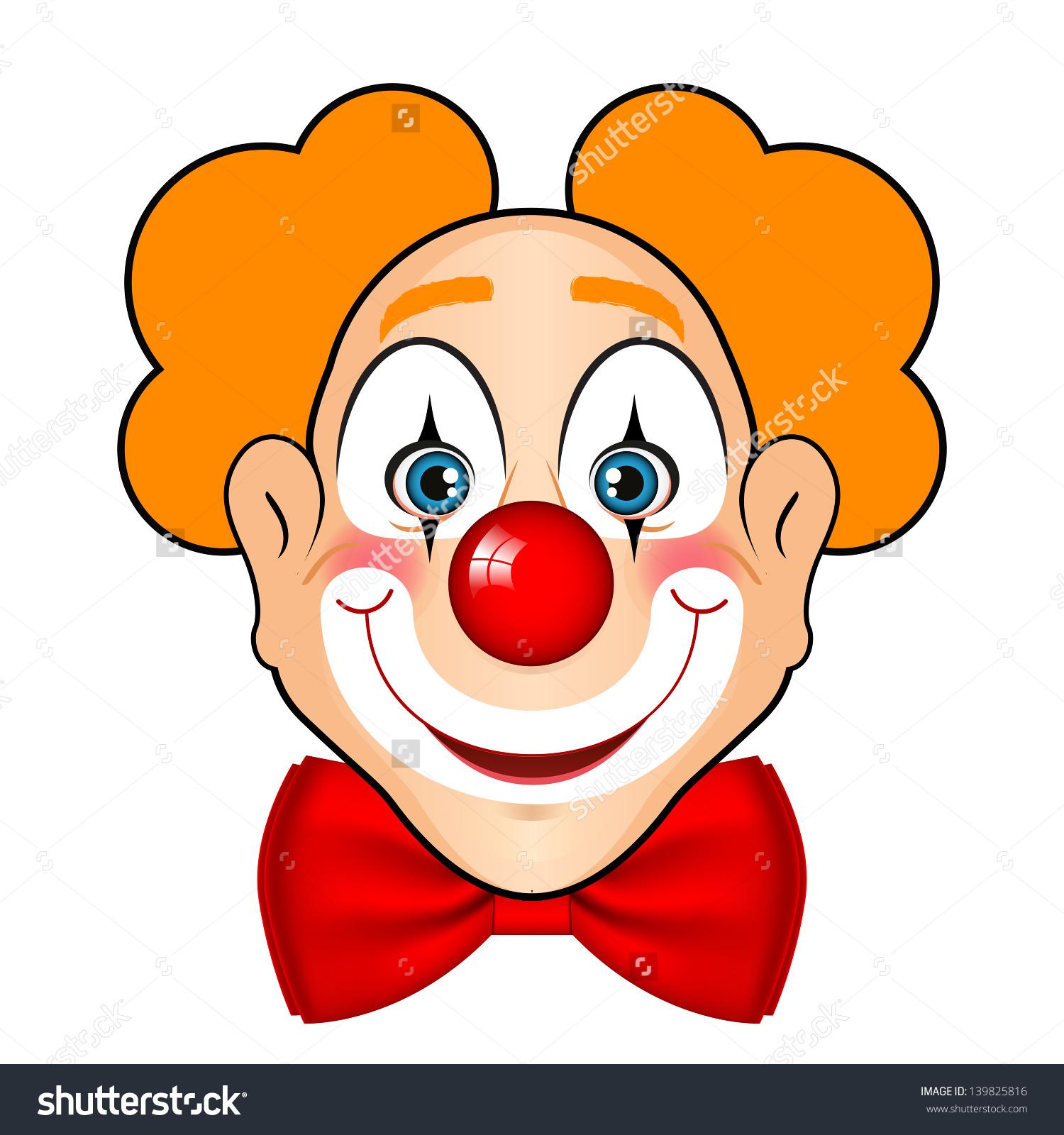 Cute Clown Face Clipart Clipground