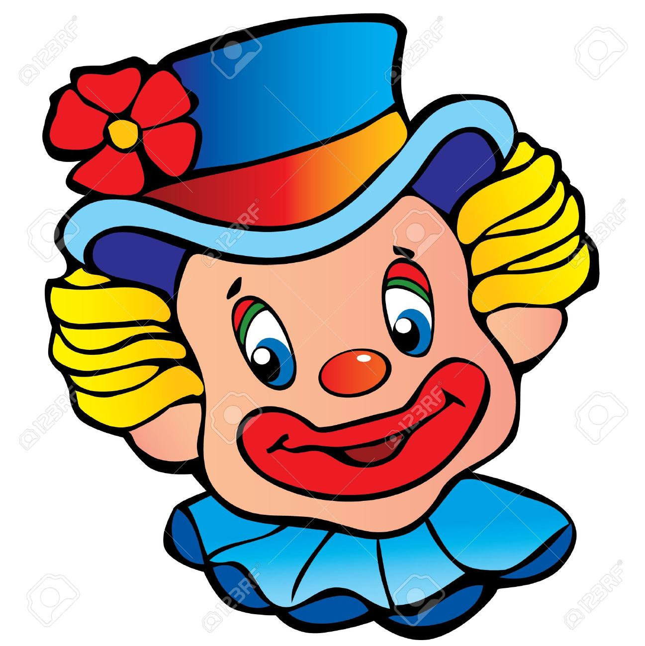 4,248 Clown Face Stock Illustrations, Cliparts And Royalty Free.